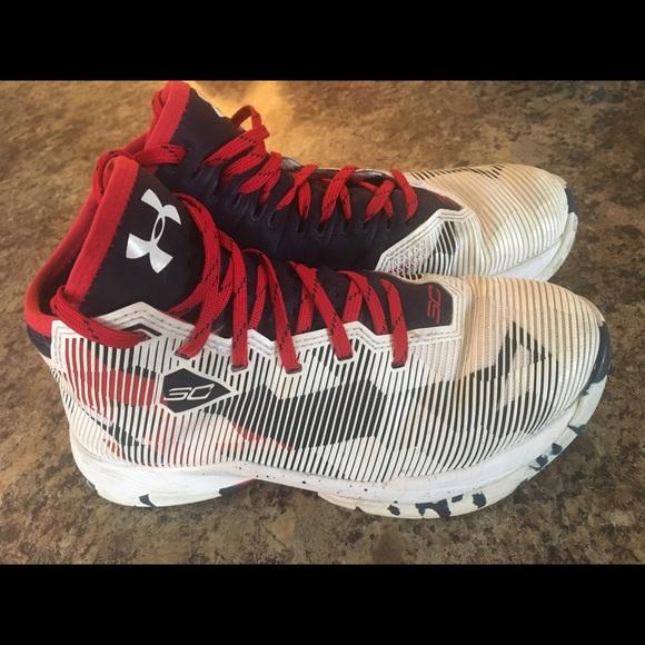 Under Armour Stephen Curry 2.5 boys sneaker. M 5bdc87d4df0307fcfd970758 cdfc9c8a0abc